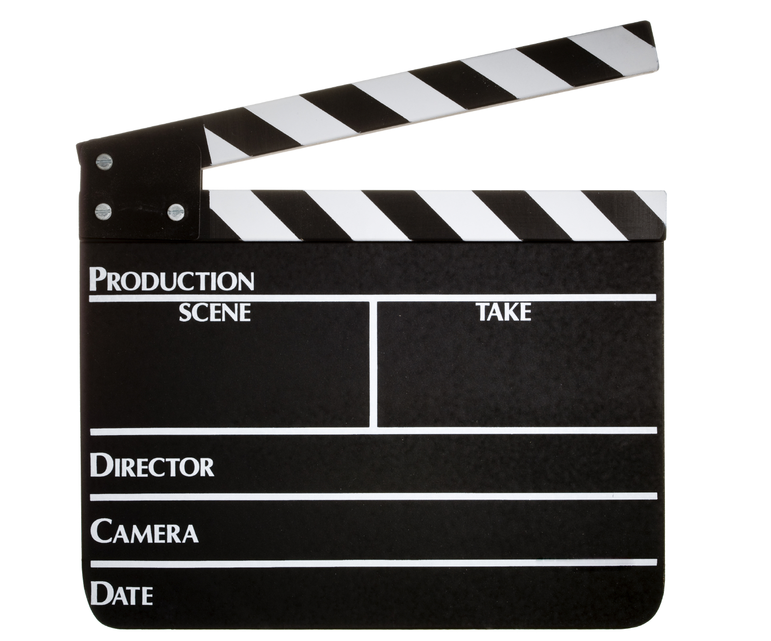 Clapperboard PNG - 4458