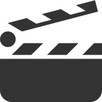 Clapperboard PNG - 4451