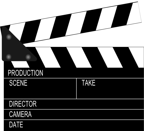 Clapperboard PNG - 4467