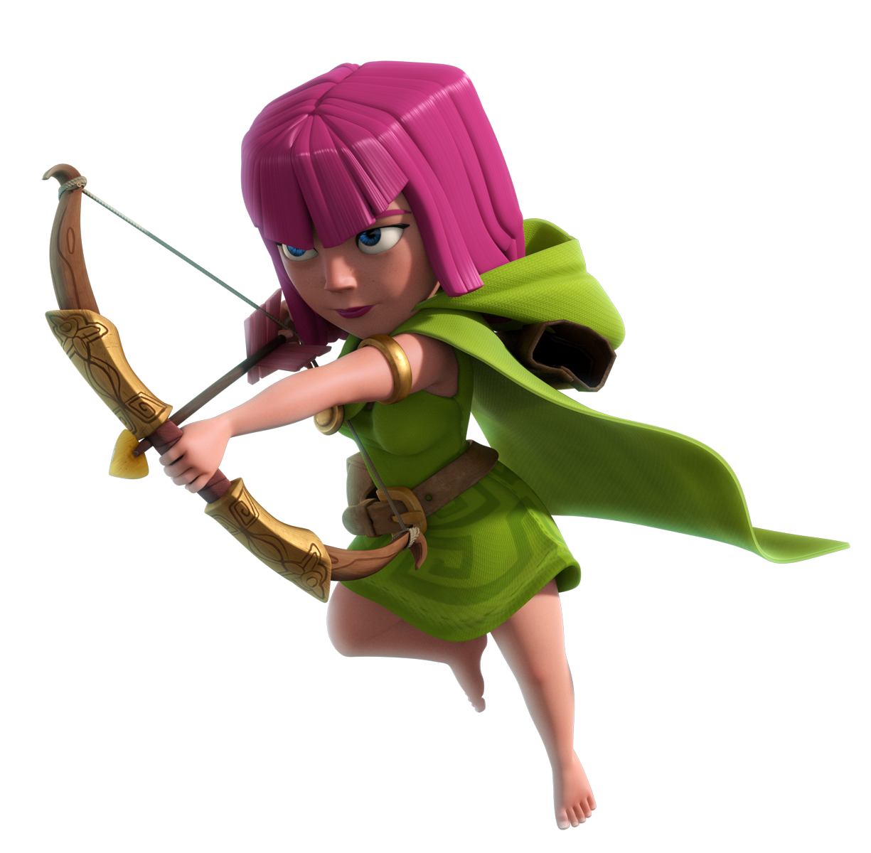 Clash Of Clans Archer Png PNG Image - Clash Of Clans HD PNG