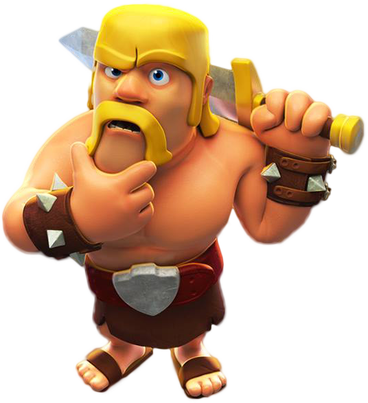 Clash Of Clans Barbarian Png PNG Image - Clash Of Clans HD PNG