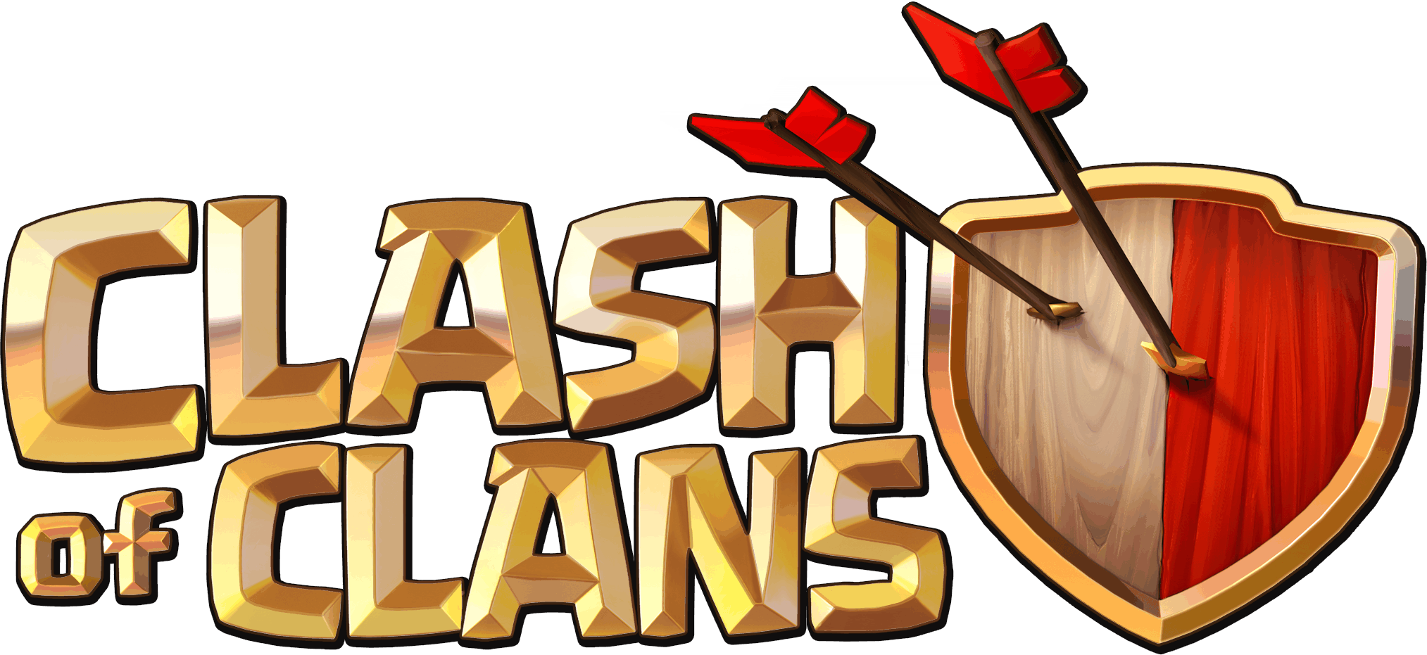 Clash Of Clans Logo - Clash Of Clans HD PNG