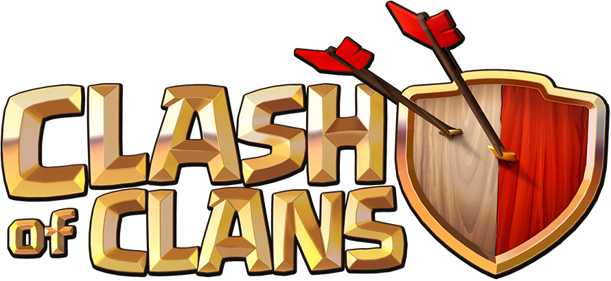 Clash logo.png - Clash Of Clans PNG