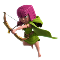 Clash Of Clans Archer Png PNG