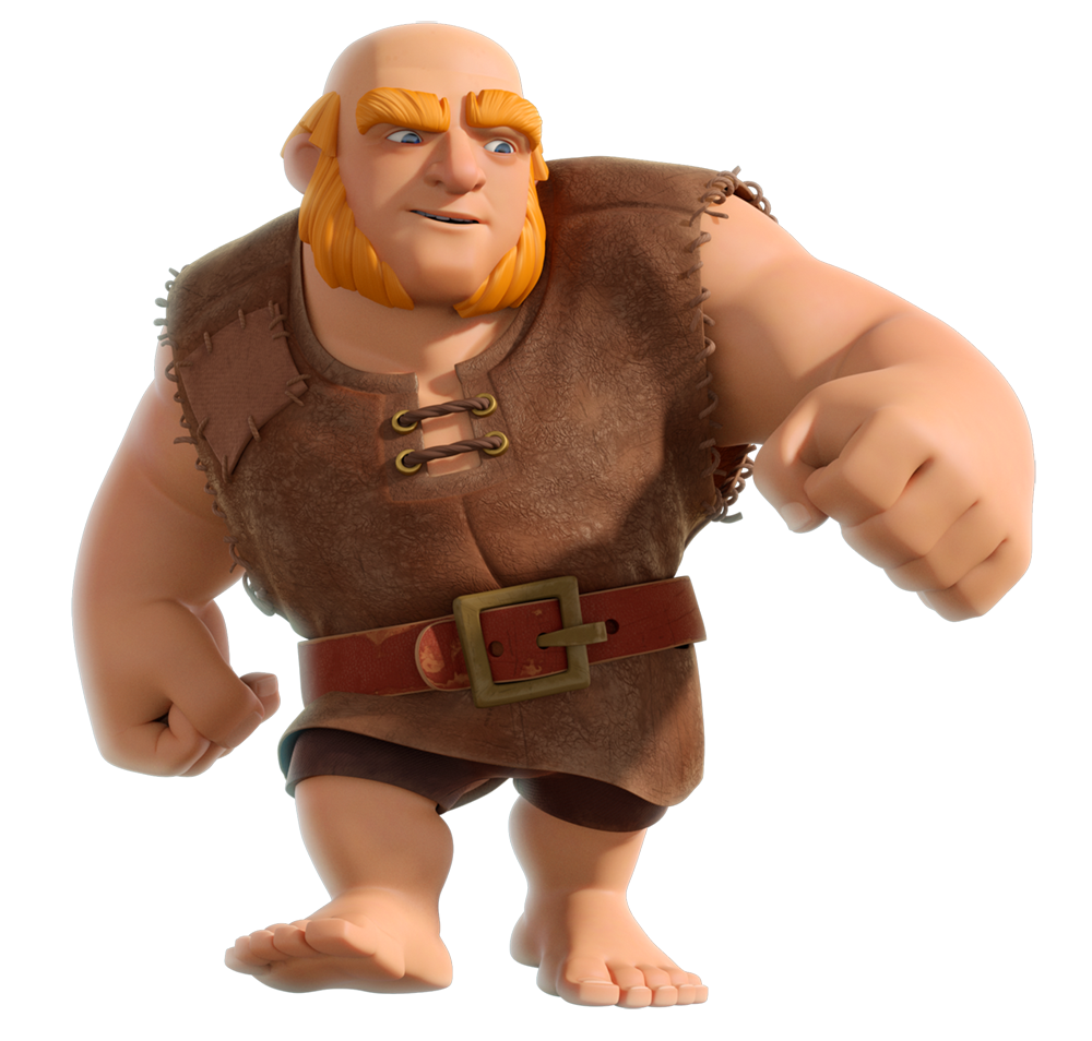 Clash Of Clans Giant Png PNG Image - Clash Of Clans PNG