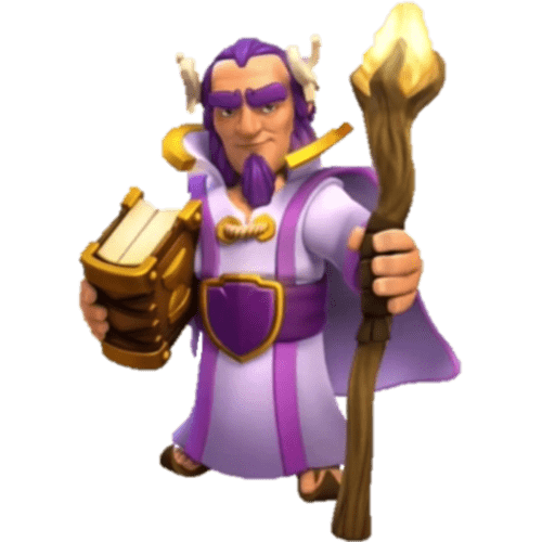 Clash Of Clans Grand Warden - Clash Of Clans PNG