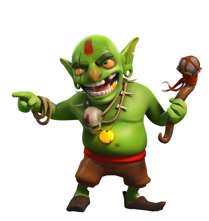 Goblin Png - Clash Of Clans PNG