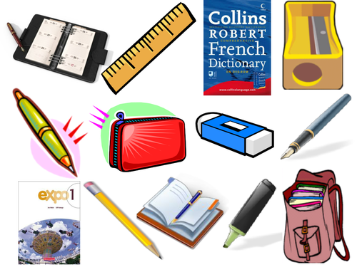 Classroom Objects PNG - 77884