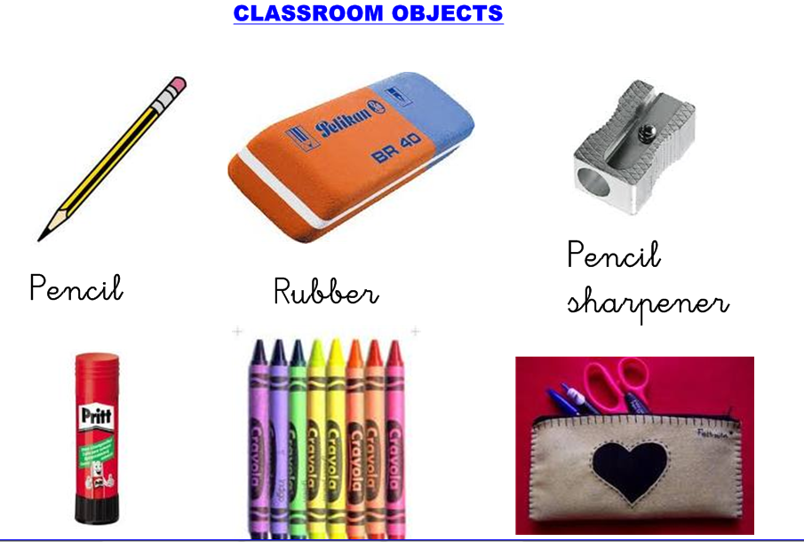 classroom objects clipart - Classroom Objects PNG