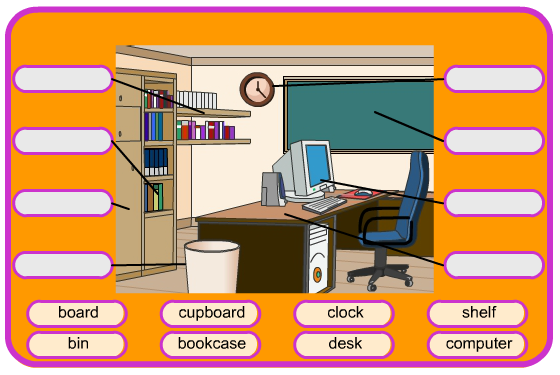 ClassroomObjects.png - Classroom Objects PNG