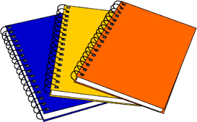 notebook - Classroom Objects PNG