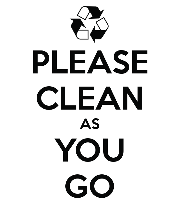 clean as a clean as you go poster puffer2573 keep calm o matic - Clean As You Go PNG