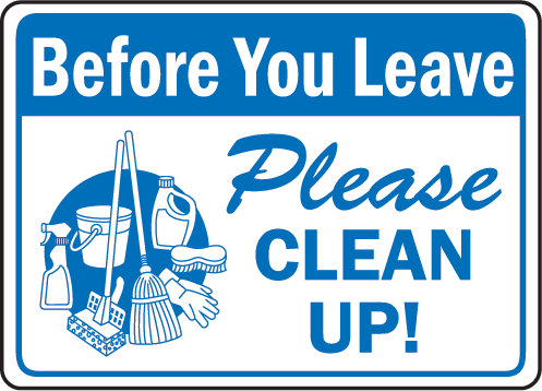 clean as you go clipart - Clean As You Go PNG