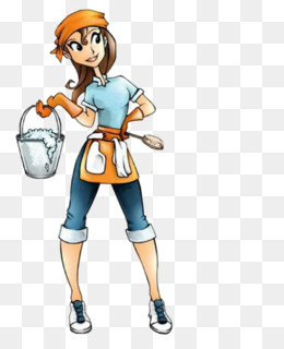 Cleaning Lady PNG HD - 142427