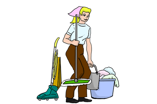 Cleaning Lady PNG HD - 142430