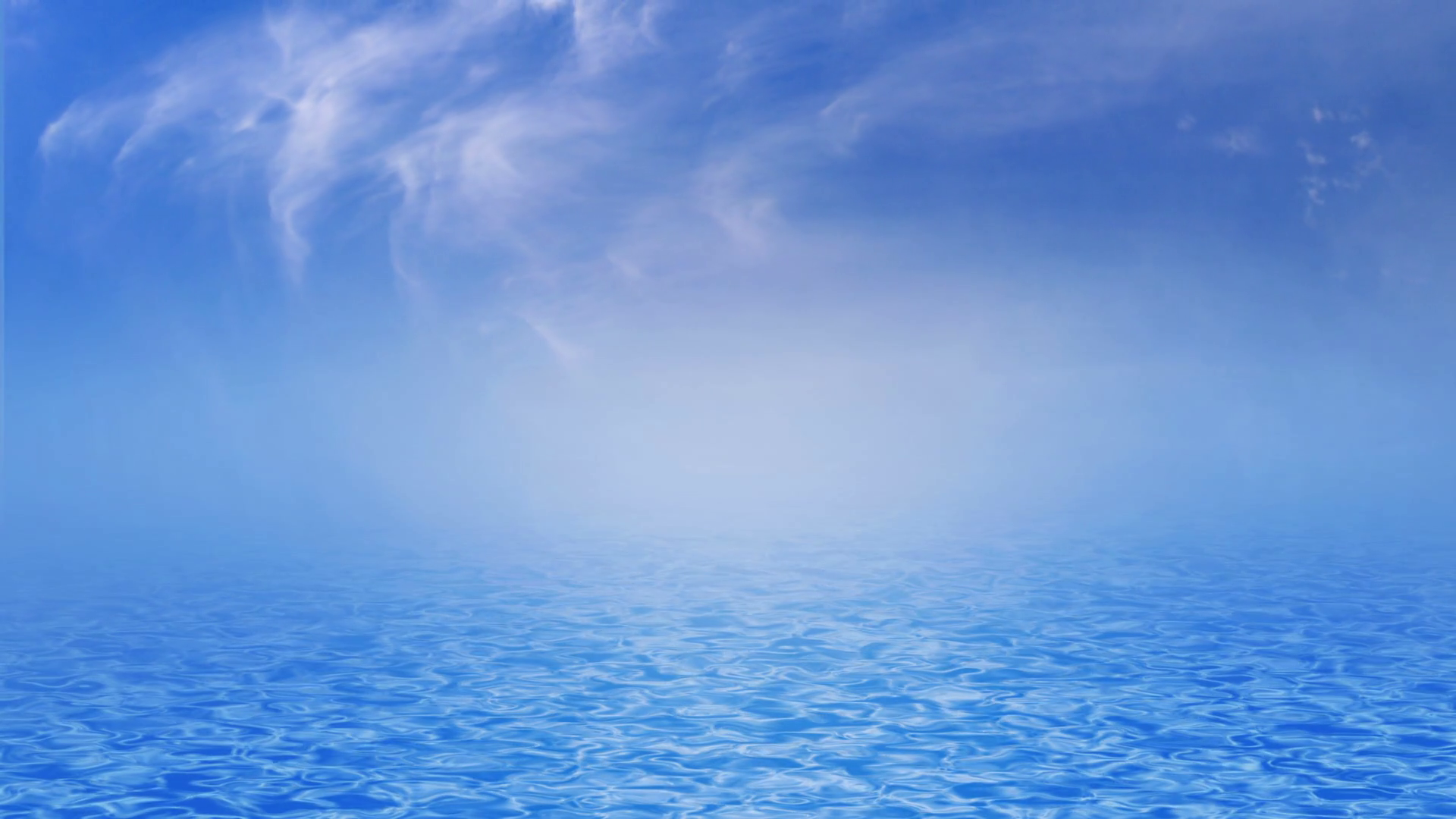 Blue sea, ocean with waves and clear blue sky and clouds, UHD 4k 3840x2160.  Motion Background - VideoBlocks - Clear Blue Sky PNG