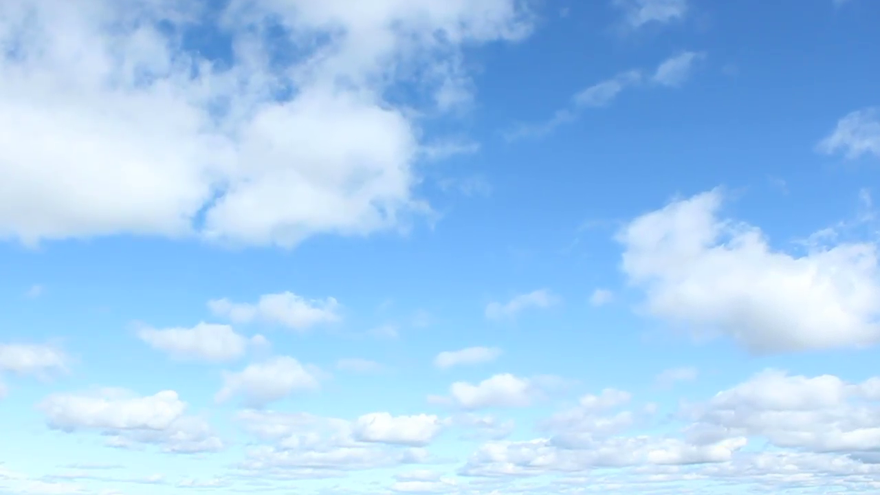 White clouds time lapse and clear blue sky Stock Video Footage - VideoBlocks - Clear Blue Sky PNG