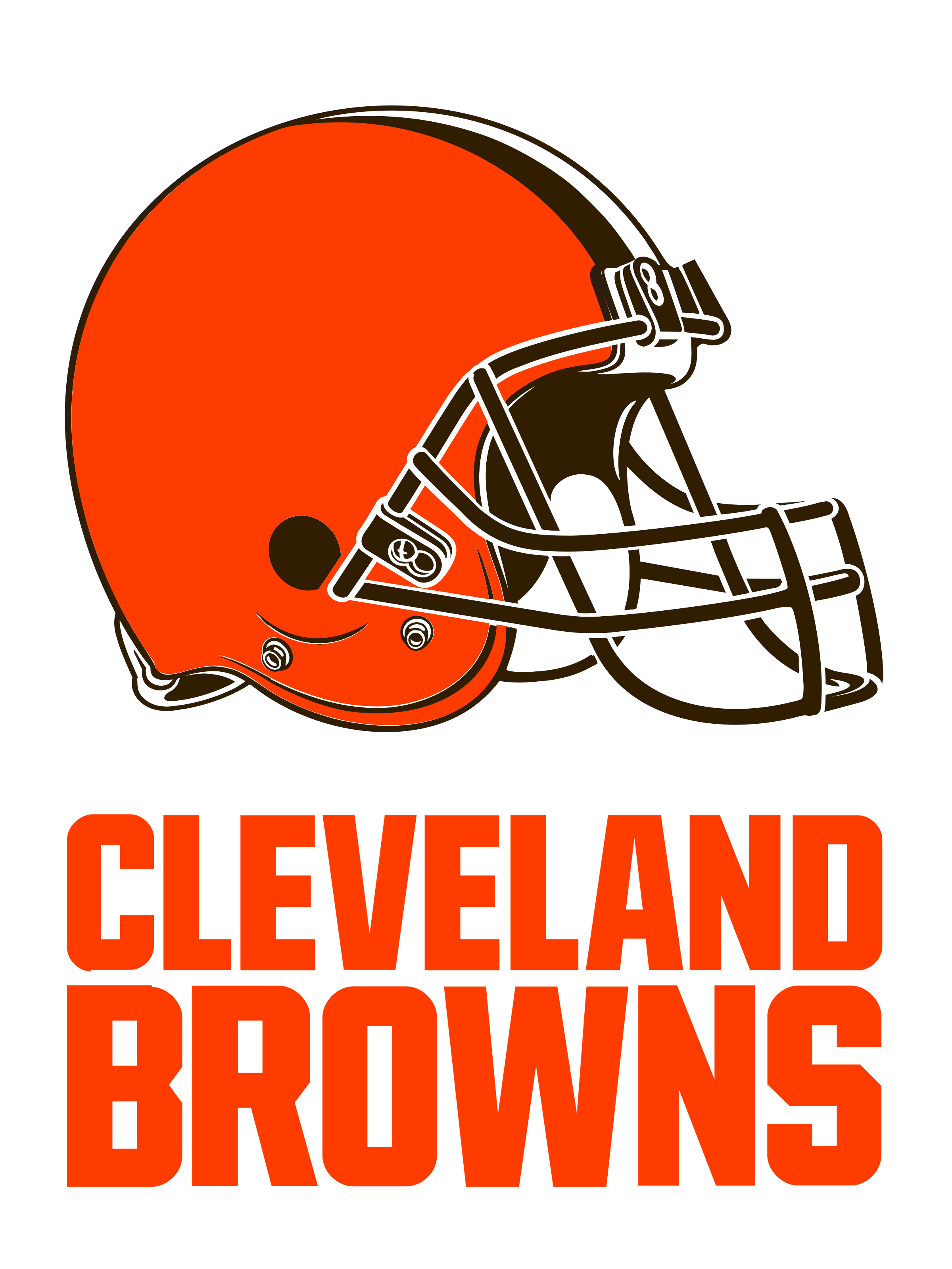 Cleveland Browns football logo - Cleveland Browns Logo PNG