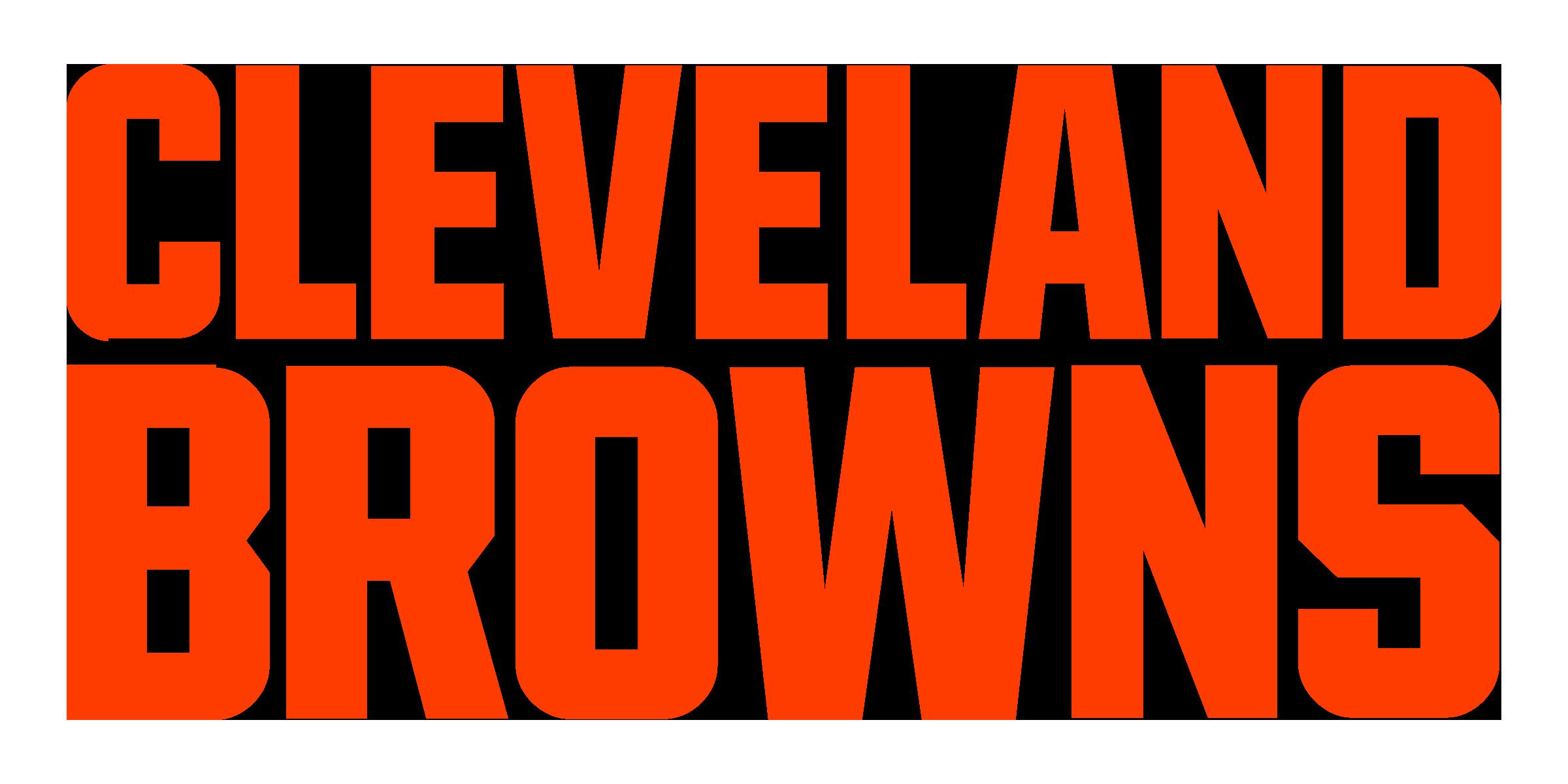 Cleveland Browns logo font - Cleveland Browns Logo PNG