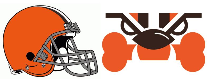 Cleveland Browns. brandflakesforbreakfast: redesigned NFL team logos - Cleveland Browns Vector PNG