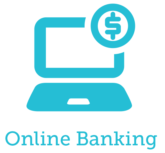 Click on the icons to learn more. - Online Banking PNG