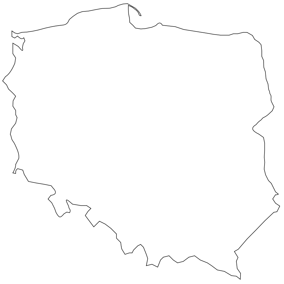 Click on the Poland Shape PlusPng.com  - Poland PNG
