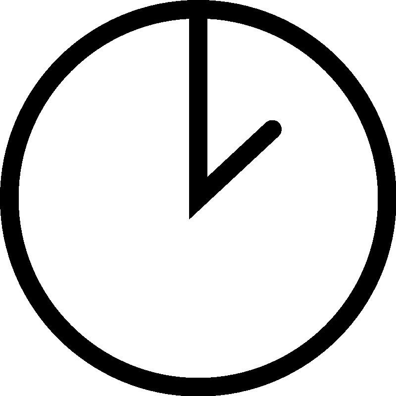 Blank Clock Clipart Png. - Clock Clipart PNG