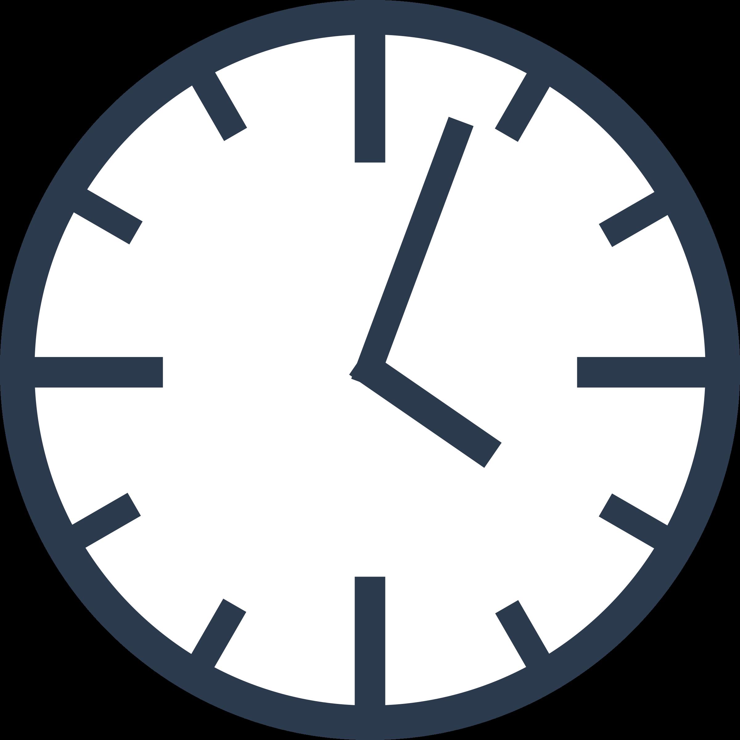 Clipart simple clock - Clock Clipart PNG