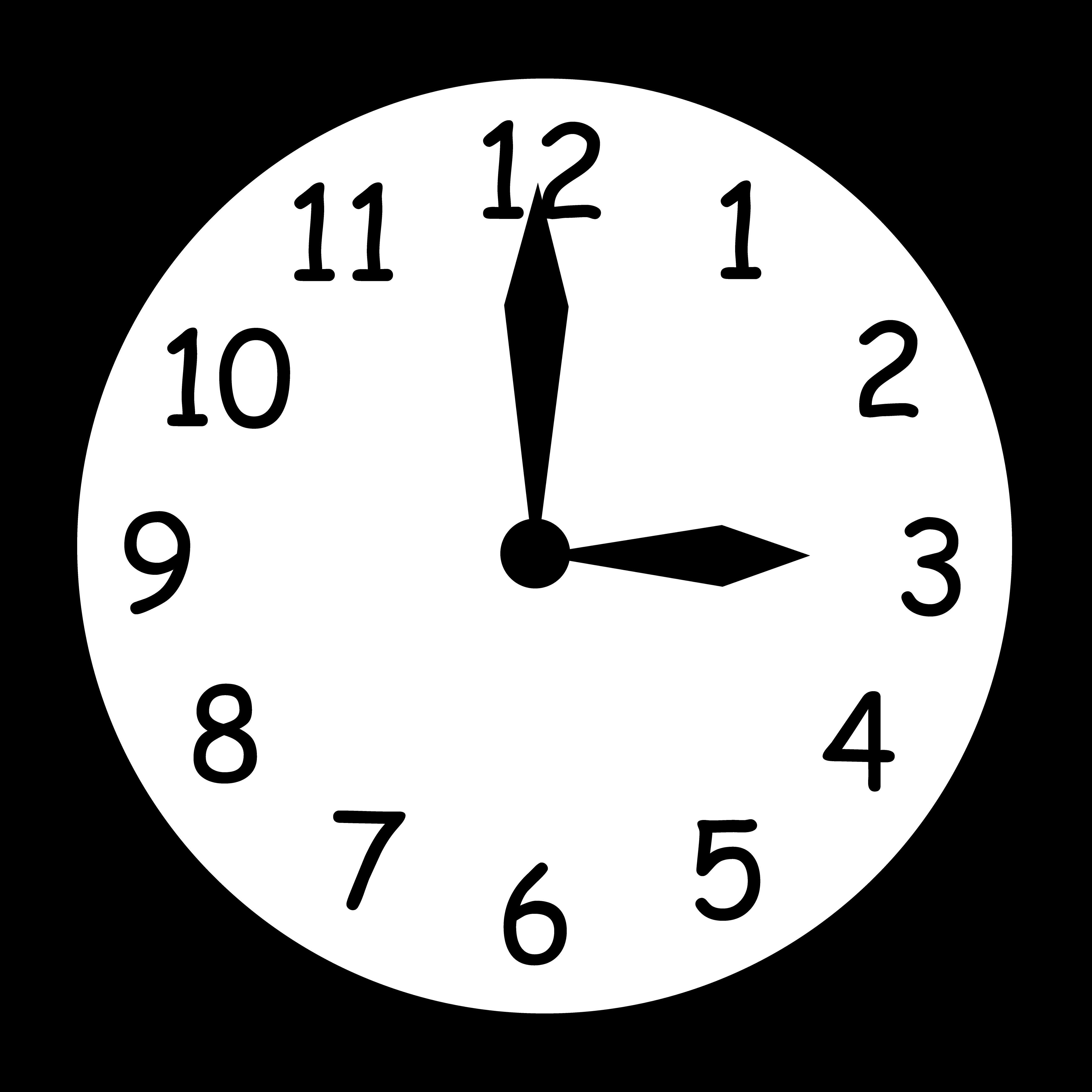 Clock Clip Art #36229 - Clock Clipart PNG