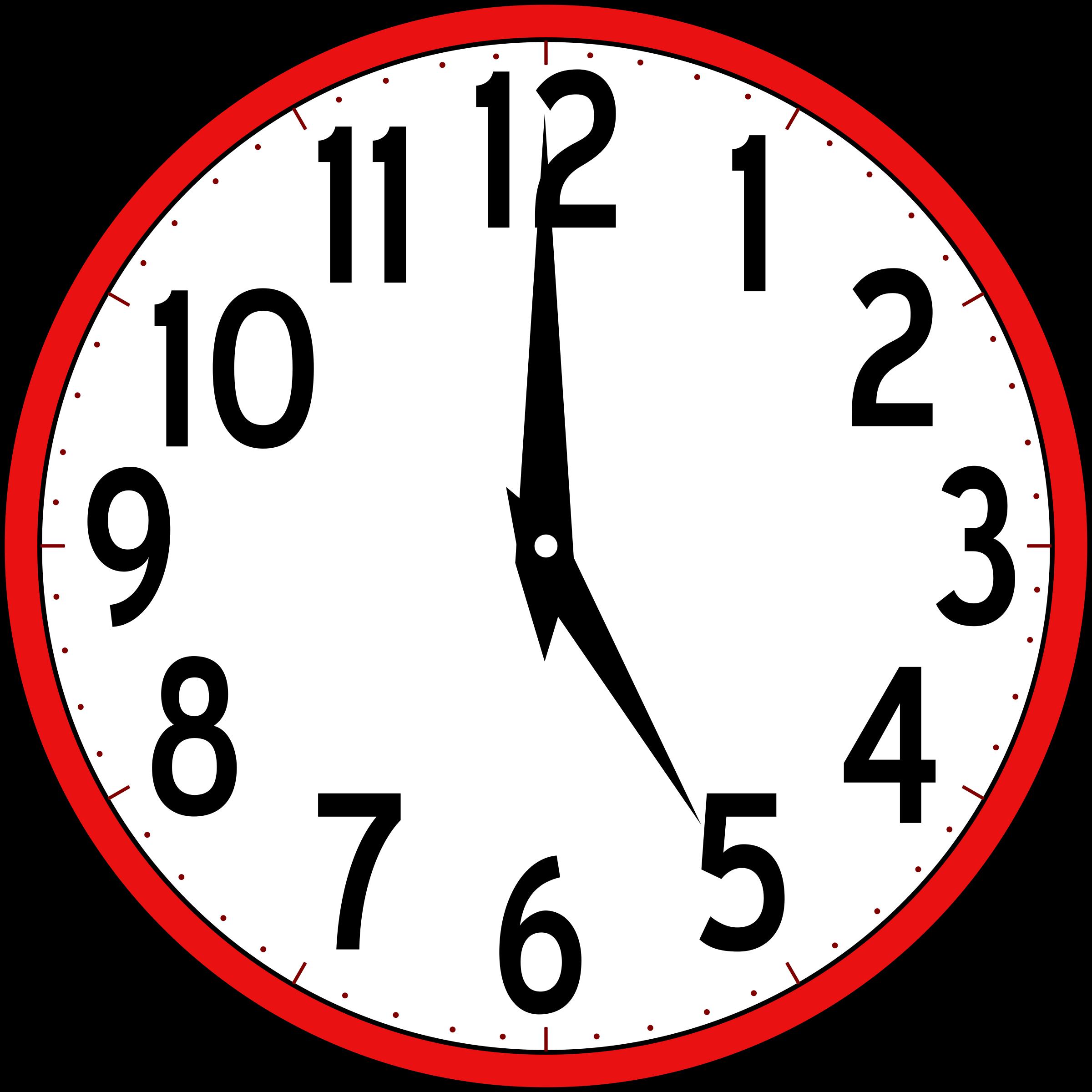 Clock Clip Art #36241 - Clock Clipart PNG