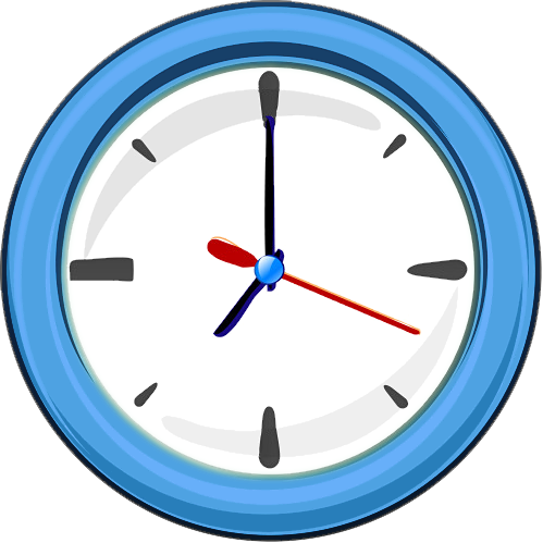 Clipart simple clock