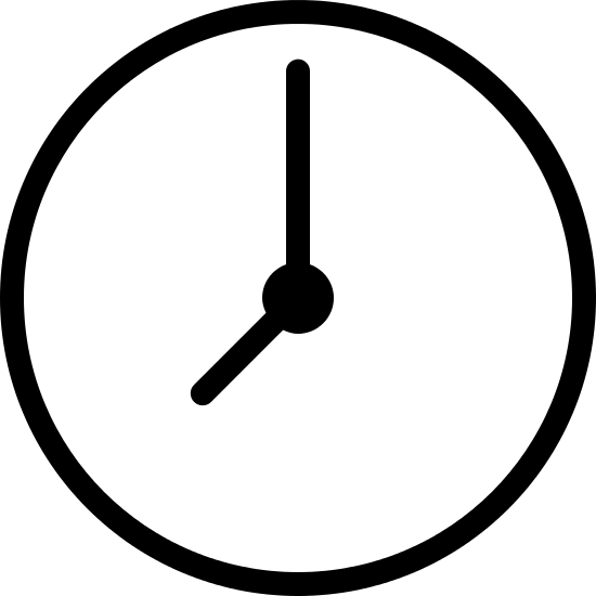 This Is A Very Simple Representation Of A Wall Clock. Itu0027s Made Up Of A. PNG  50 Px - Clock PNG