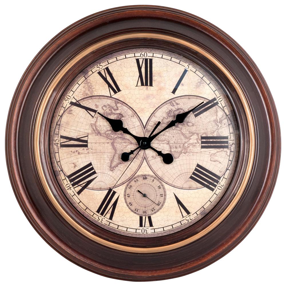 Vintage Wall Clock PNG Image
