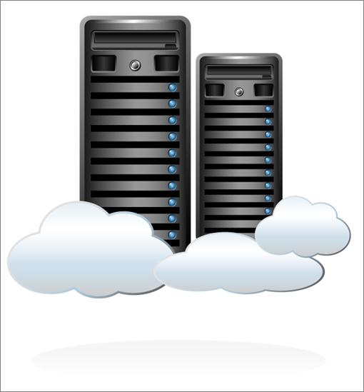 Cloud Server PNG - 526