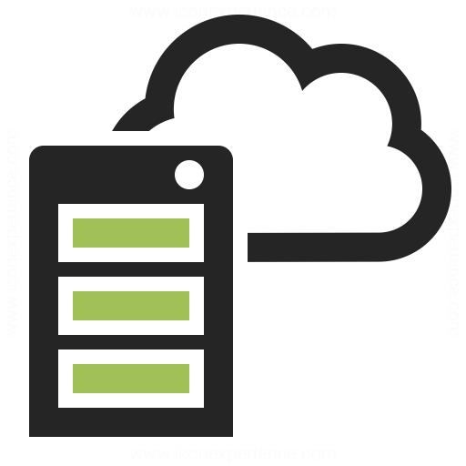 Cloud Server PNG - 519