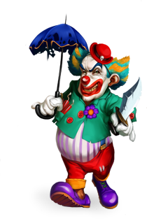Killer Clown.png - Clown PNG