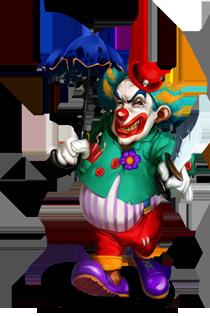 Killer Clown.png - Clown PNG