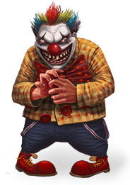 Sinister Clown.png - Clown PNG