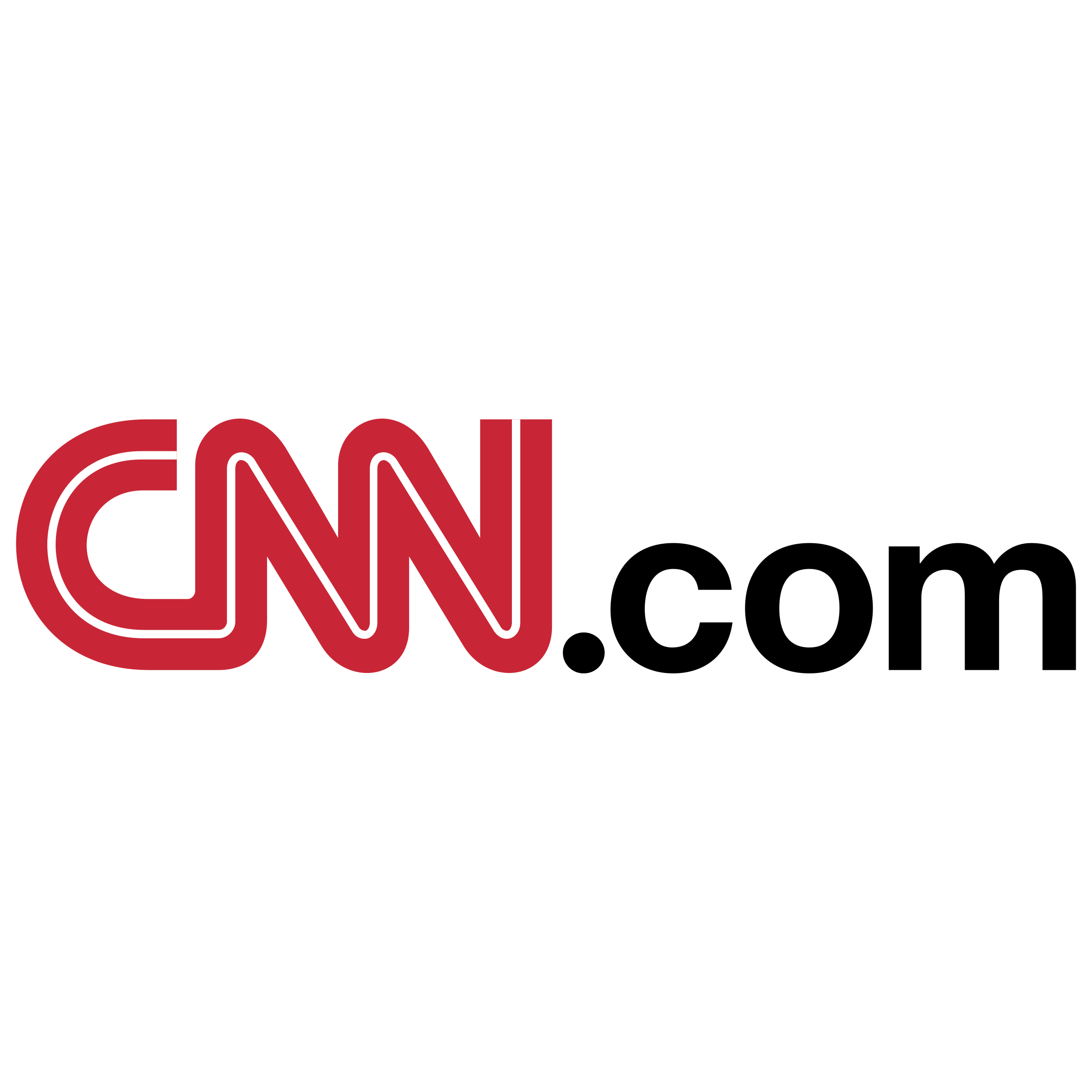 Cnn Com Logo Png Transparent