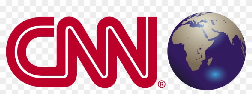 Cnn Logo With Earth Png - Cnn
