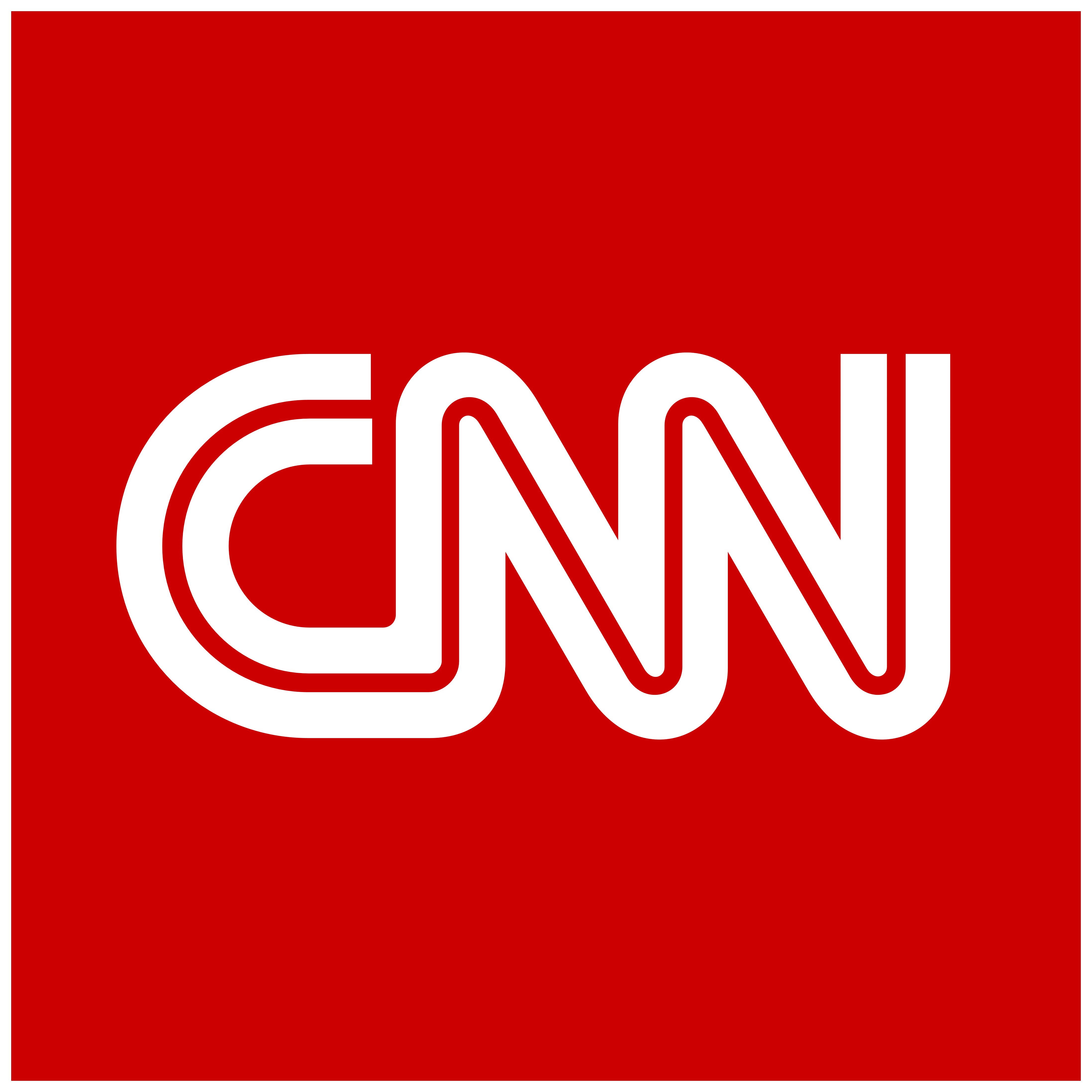 Cnn – Logos, Brands And Logotypes - Cnn Logo PNG