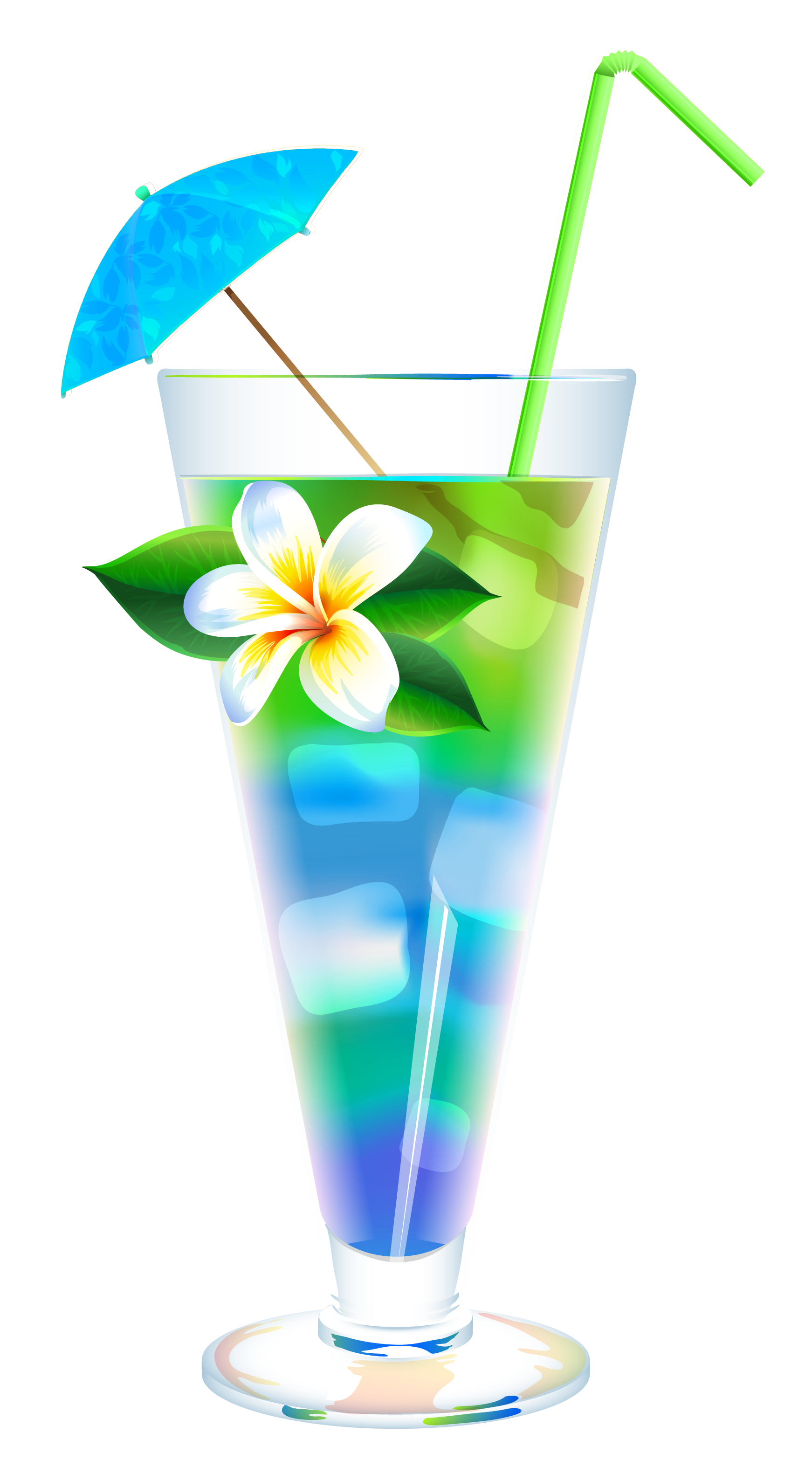 Exotic Summer Cocktail PNG Clipart Image - Cocktail PNG