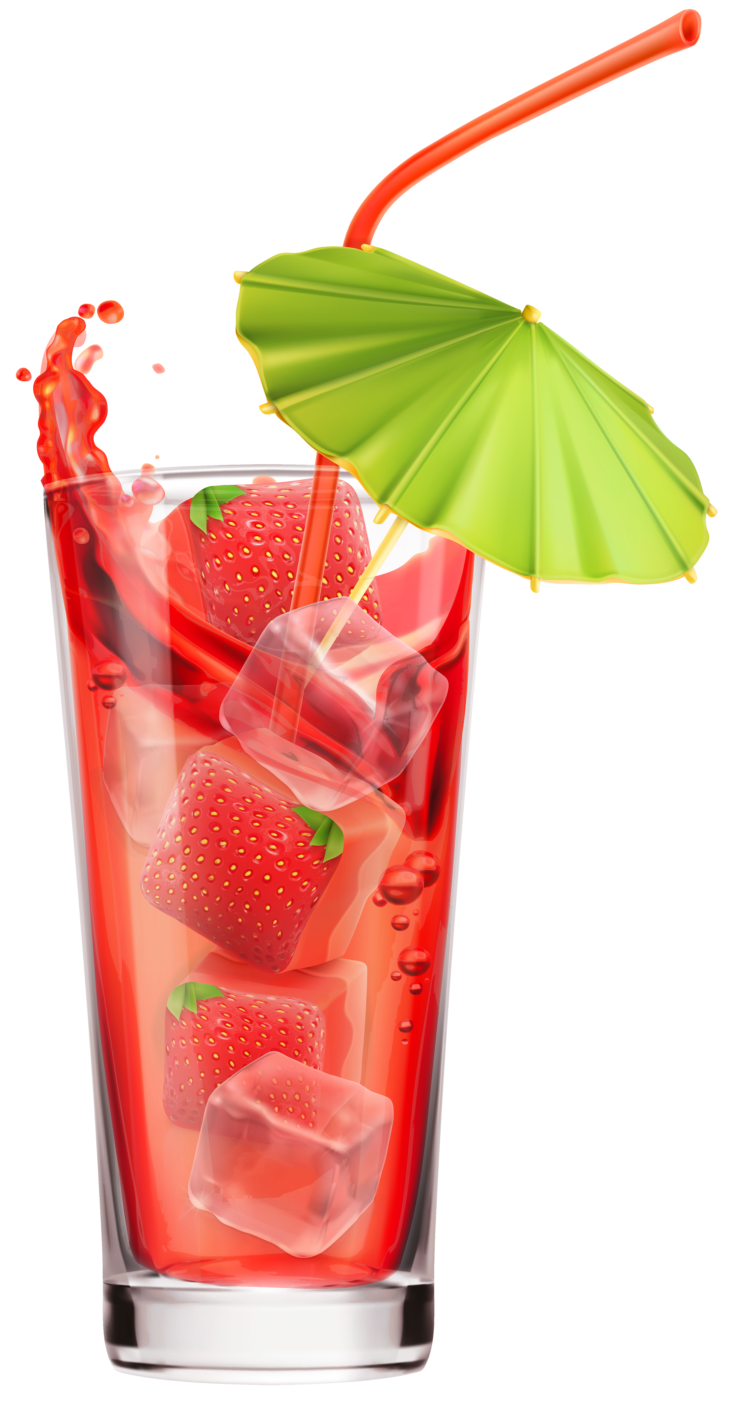Strawberry Cocktail PNG Clipart Image - Cocktail PNG