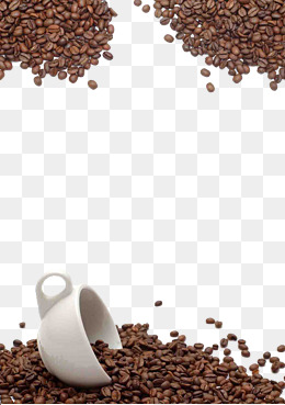 Coffee beans background · PNG PSD - Coffee Beans PNG