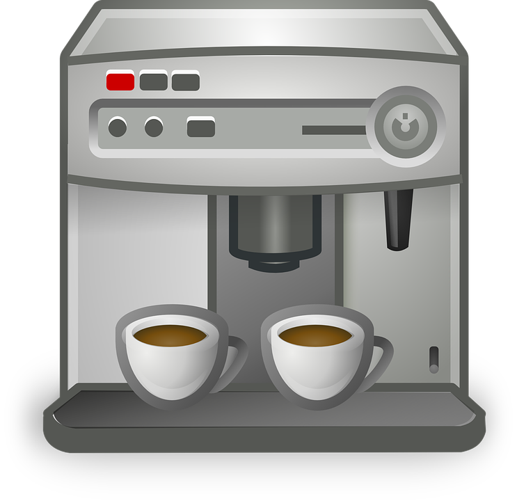 Coffee, Coffeemaker, Cup, Machine, Automatic, Espresso - Coffee Machine HD PNG