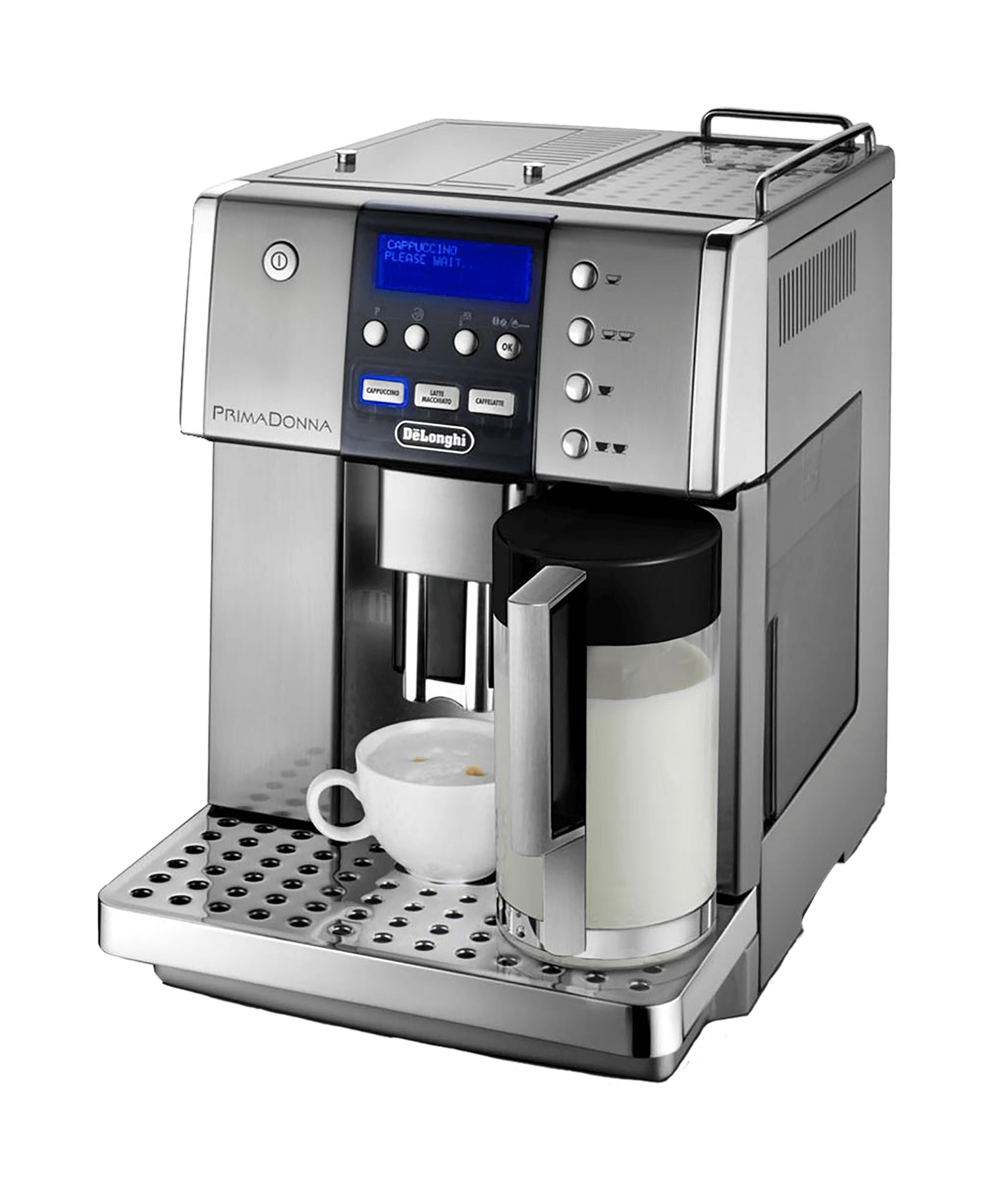 Delonghi Prima Donna Coffee Machine - Coffee Machine HD PNG