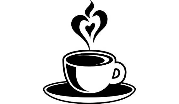 Coffee Cup #4 Heart Steam Java Roasted Brew Mug Tea Drink Company Logo .SVG  .EPS .PNG Digital Clipart Vector Cricut Cut Cutting Download - Coffee Mug With Heart PNG