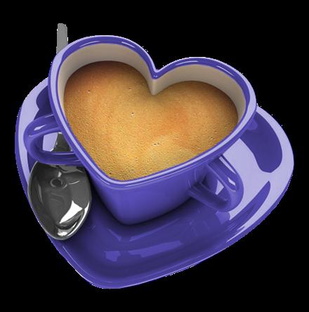 Coffee Mug With Heart PNG - 79519
