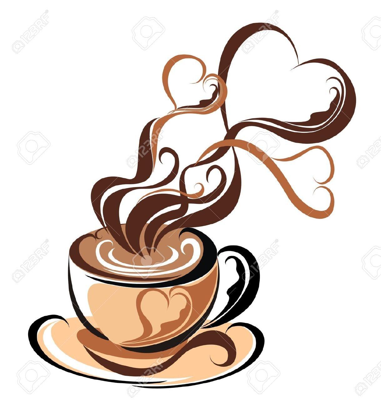 Coffee Mug With Heart PNG - 79520