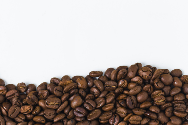 Background with coffee beans Free Photo - Coffeebeans HD PNG